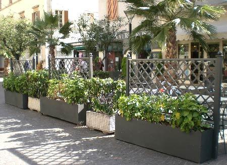 Fioriere in ferro da giardino for Portavasi balcone