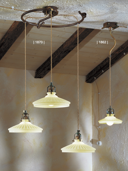 Lampadari: Country green