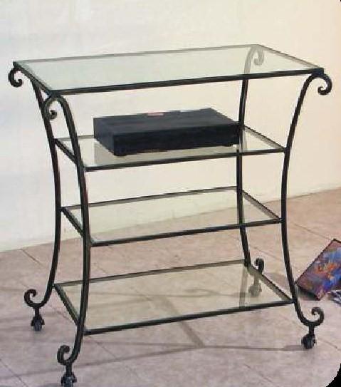 Librerie etagere carrelli porta tv scrivanie - Porta tv ferro battuto ...